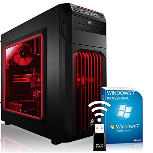 PC gaming de gama alta AGANDO multicolor AMD Radeon RX580 8GB AMD A10-7850K