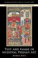 Text and Image in Medieval Persian Art (Edinburgh Studies in Islamic Art)