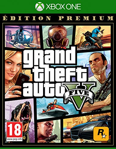 Grand Theft Auto 5 (GTA V) - Premium Edition, (French) Xbox One (Xbox One)