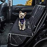 Coprisedile da auto per cani compatibile con braccioli centrali Coprisedili posteriori impermeabili per sedili posteriori Protezione per seggiolino auto per animali domestici resistente
