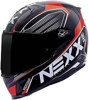 Nexx XR2 Full Face Motorcycle Racing Helmet - Torpedo Red - XXXL XXX-Large