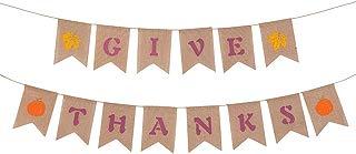 THANKSGIVE Banner Hanging Garland Banner Thanksgiving Party Decoration (Thanksgiving Banner)