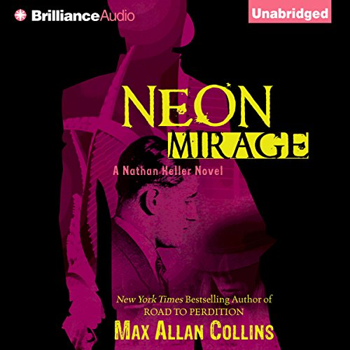 Neon Mirage audiobook cover art