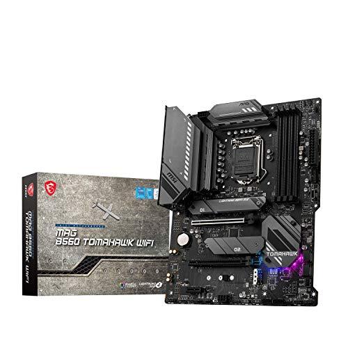 MSI MAG B560 TOMAHAWK WIFI Placa Base Gaming, ATX - Soporta Procesadores Intel Core 11ª Gen, LGA 1200 - Mystic Light, DDR4 Boost (5066MHz/OC), 2 x PCIe 4.0/3.0 x16, 3 x M.2 Gen4/3, 2.5G LAN, Wi-Fi 6E