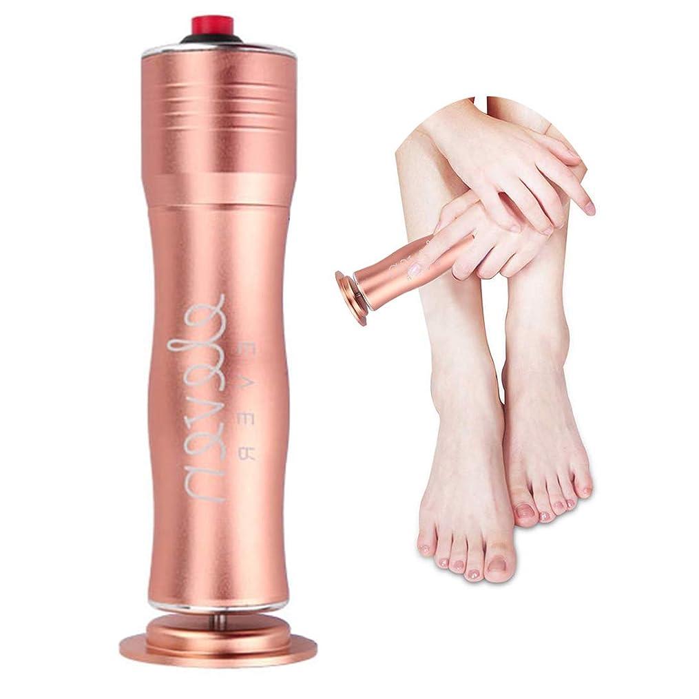 クルーズフローティングデンプシー電動角質リムーバー 角質取り スピーディに足の角質を除去可能 速度調節可能 清潔的 衛生的な足部ケア道具 磨足器 ペディキュアマシン 使い捨てのサンドペーパー付き 男女兼用