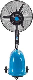 Ventilador nebulizador/Ventiladores de pedestal/Ventilador Industrial de pie /3 Velocidades/deposito Agua 49 litros/Negro