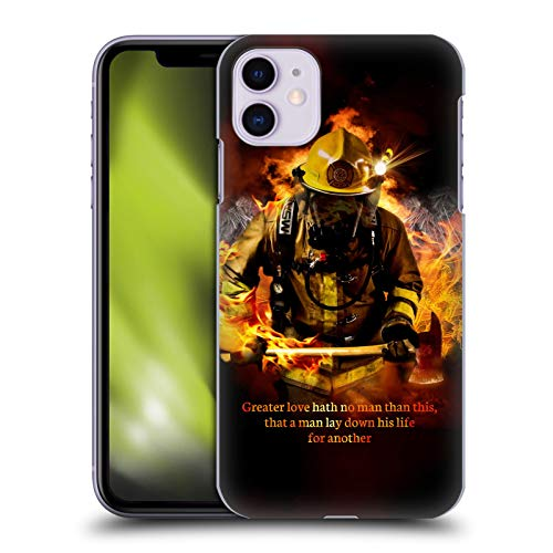 Head Case Designs Officially Licensed Jason Bullard Fireman 2 Firefighter Hard Back Case Compatible with Apple iPhone 11