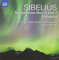 Sibelius: Symphonies 6 & 7; Finlandia by New Zealand Symphony Orchestra (2011-09-27)