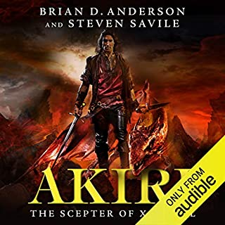 Akiri: The Scepter of Xarbaal audiobook cover art