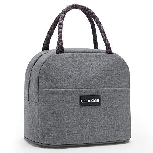 保冷バッグ お弁当 ランチバッグ 小型 環境保護 断熱 軽量 防水 洗える (グレー)