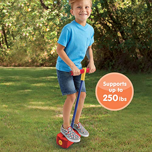A Pogo Jumper is a fun indoor toy for active kids