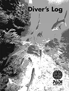 Padi Adventure Log 25 Refill Log Pages 50 Dives