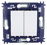bticino 790040033?Interruptor conmutador doble.