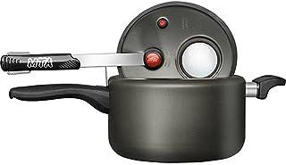 Aluminum pressure cooker with display. Internal closure. (non-stick aluminum, 7.4)