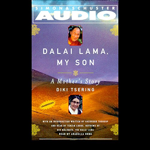 Dalai Lama, My Son audiobook cover art