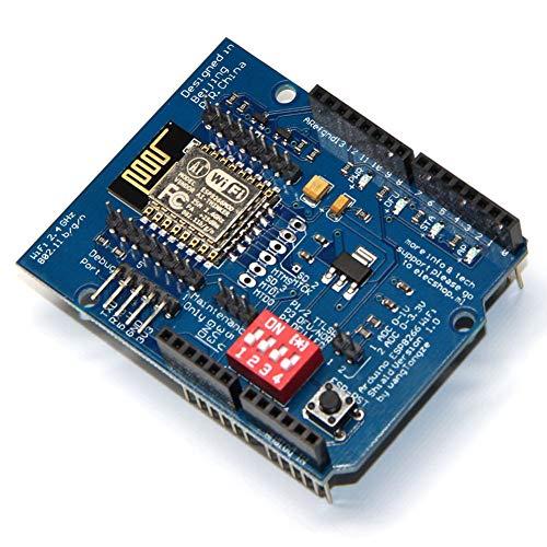 Coomir ESP8266 ESP-12E UART WiFi Drahtloser Schild TTL Konverter Für Arduino UNO R3 Mega