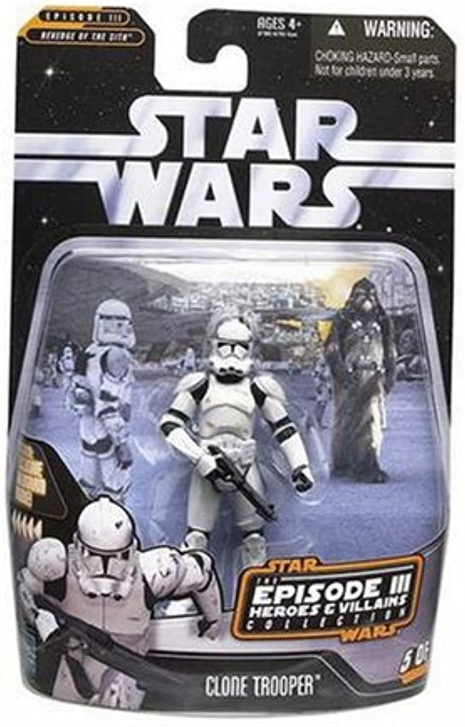 Star Wars Saga Collection Heroes and Villians Clone Trooper Action Figure