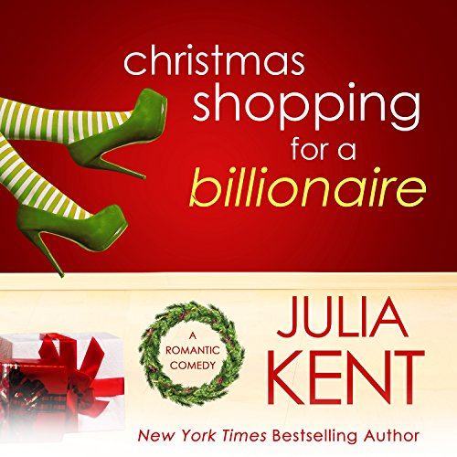 Christmas Shopping for a Billionaire audiobook cover art