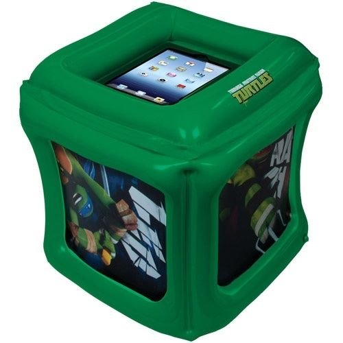 CTA Digital nictic Ninja Turtles zitzak inchable voor iPad met displaybeschermfolie