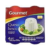 Gourmet - Queso Fresco Burgo Tarr 4 x 62,5 g