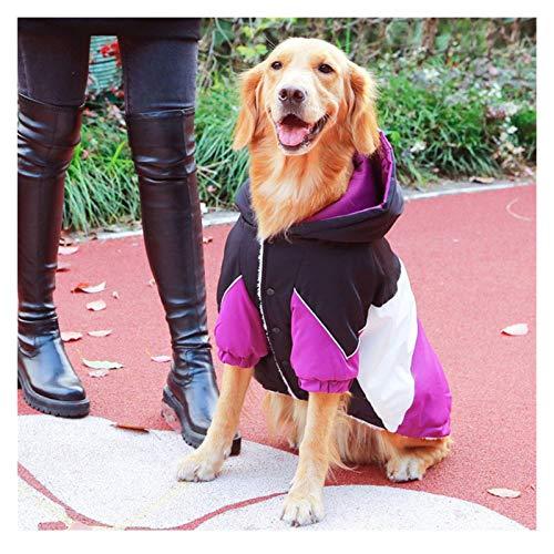 Big Dog Ropa de otoño e Invierno más cálido Terciopelo Trajes del Perro Husky Labrador Golden Retriever Mediano Grande XXL Capa del Perro Chaqueta De Perro (tamaño : 6XL(25-30KG))