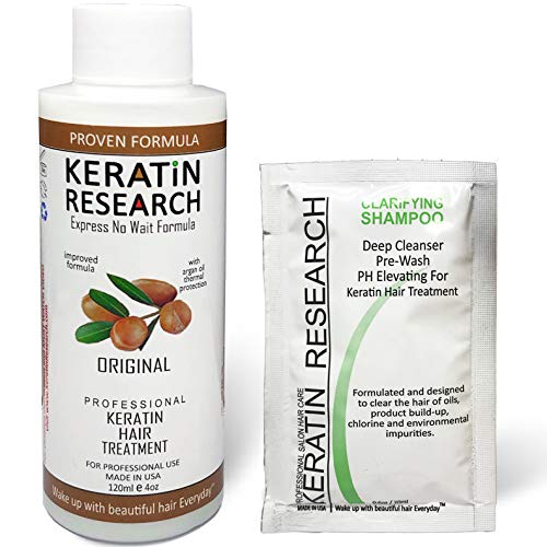 Brazilian Keratin Blowout Hair Treatment Complex 120ml Professional Results Straightens and Smooths Hair Queratina Keratina Brasilera Tratamiento