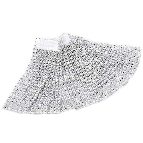 100pcs servilleteros de mesa servilletero anillo Diamante cinta de ...