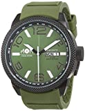 M.O.M. manifattura orologiaia modenese Modena Day Date PM7000–94–Reloj de Pulsera Hombre