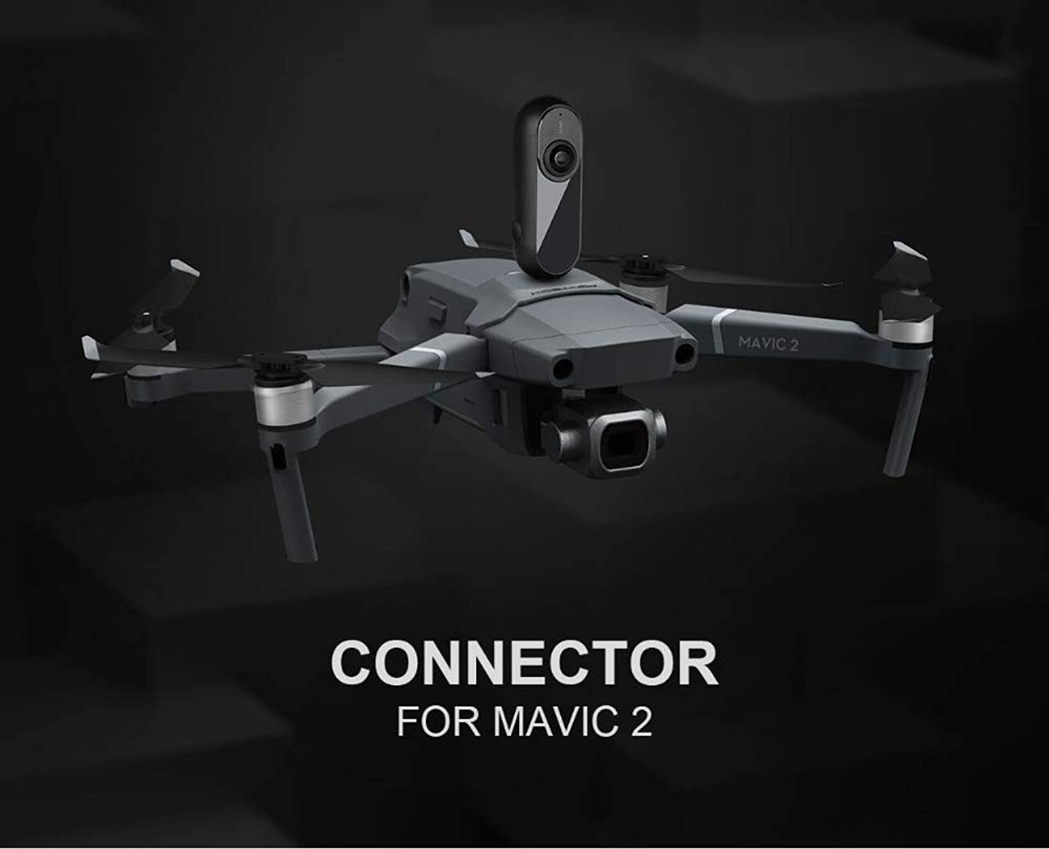 BeesClover for DJI Mavic 2 Pro/Zoom Connection Mount Adapter Connector for Sports Action Camera Mavic 2 Accessories