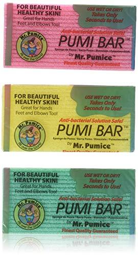 LOT of 6 Mr. Pumice Bar Healthy Skin Callus Feet Elbow Hands Pumi Bar Sponge by Mr. Pumice