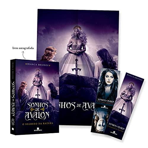 O Segredo da Rainha (Volume 2 Sonhos de Avalon) – Exemplar Autografado com Brindes.