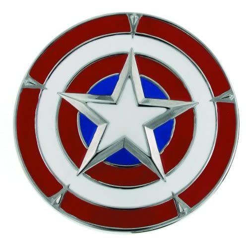 New Captain America Shield First Avenger  Metal Fashion Belt Buckle