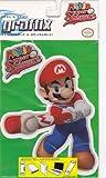 Gamer Graffix Mario Super Sluggers Wii Graphics Removable and Reusable Mario Stickers