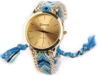 Watches for Women Ladies Watches Woman Colorful Luxury Simple Casual Wrist Watch Fashion Wild Multi-Colored Fiber Watches for Women Fashion Casual Wrist Watches