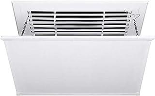 Deflector de Aire Acondicionado para Aire Acondicionado Central en el Techo, soplado Anti Directa Ajustable, fácil de Instalar Desmonte y limpie (Color : White, Size : 60cm×60cm)