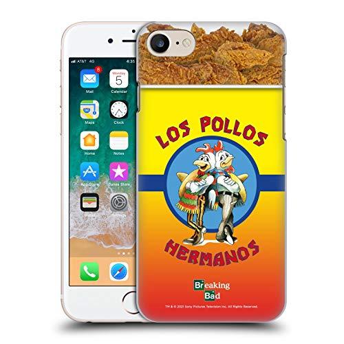 Head Case Designs Licenza Ufficiale Breaking Bad Los Pollos Hermanos Secchio di Pollo Iconico Cover Dura per Parte Posteriore Compatibile con Apple iPhone 7 / iPhone 8 / iPhone SE 2020