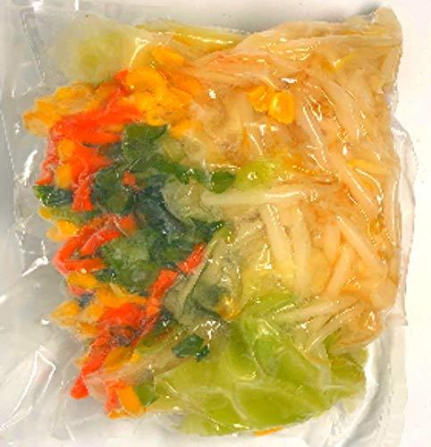 冷凍野菜ミックス(ラーメン用) 国産徳島、岡山、北海道産など))ラーメン用の野菜ミックス 200g 国産冷凍野菜ミックス インスタントラーメン、チャンポン用の冷凍野菜ミックス【消費税込み】