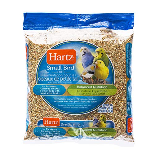 Hartz Parakeet, Canary, Finch Small Bird Food - 4lb