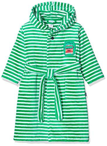 Schiesser Jungen Boys World Bademantel, Grün (grün 700), 128