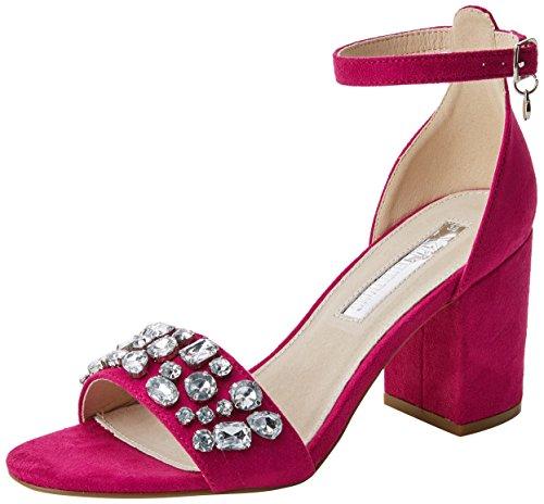 XTI 30755, Zapatos con Tacon y Correa de Tobillo para Mujer
