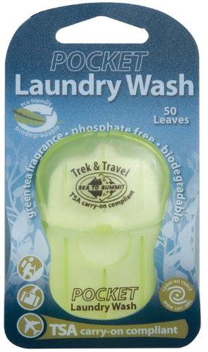 Sea to Summit Trek & Travel Pocket Laundry Wash (50Fogli/.5Once)