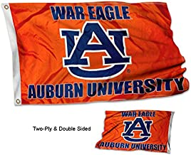 College Flags and Banners Co. Auburn Tigers War Eagle Double Sided Flag