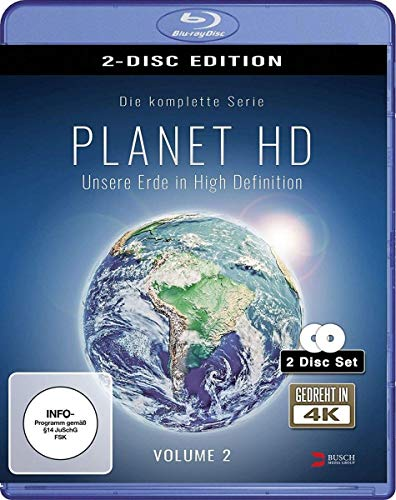 Planet HD - Unsere Erde in High Definition - Vol. 2 [Blu-ray]