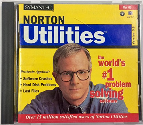 Symantec: The Norton Utilities For Macintosh