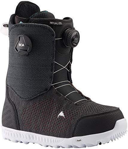 Burton Ritual LTD BOA Snowboard Boots Womens Sz 10 Black/Multi