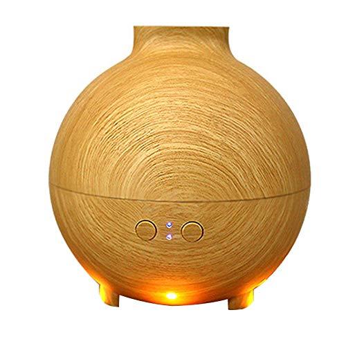 LPPL Difusores de aceites Esenciales de 600 ml, difusor de Niebla de purificadores de Aire de Apagado automático sin Agua con luz Nocturna