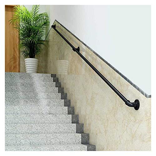 RTY-BY Moderna Escalera de barandilla con Accesorios, Correos de Aseo al Aire Libre para Camiones para Pasos de Pared Kit de Soporte para escaleras, jardín de Infancia Familiar Corredor de Guardia