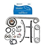 ECCPP TK3022 Timing Chain Kit Fit For Nissan Frontier 1998 1999 2000 2001 2002 2003 2004, Nissan Altima, Nissan Xterra Fit 13024-9E000 13077-5V100 13021-53J00 13070-4E102 13070-53F16