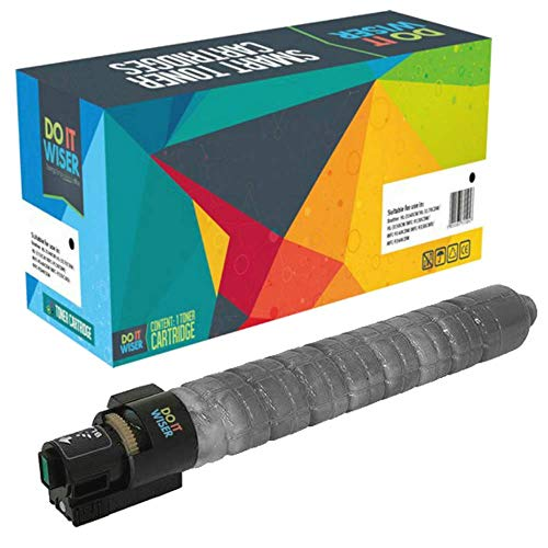 Do it wiser Toner Compatible con Ricoh Aficio MP C2030 C2050 C2051 C2530 C2550 C2551 841504 (Negro: 10,000 páginas)