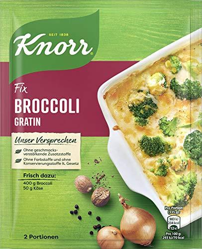 Knorr Fix Broccoli Gratin Beutel, 23er Pack (23 x 49 g)